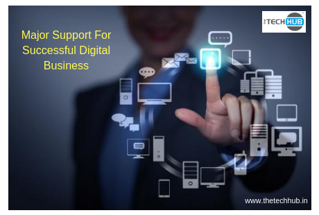 major support for succesful digital business