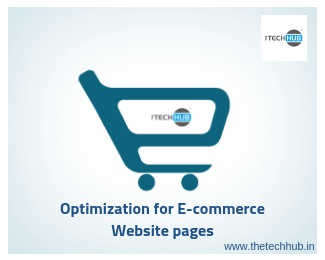 e-commerce website pages optimization